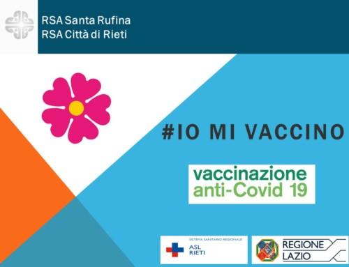"""Vaccini nelle Rsa, prime dosi iniettate alla """"Città di Rieti"""""""