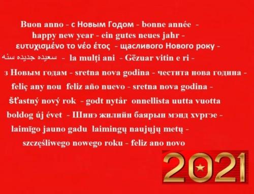 Auguri di Buon Anno!!!